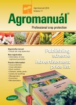 AGROMANUÁL - Publishing scheme and Advertisement price list 2016