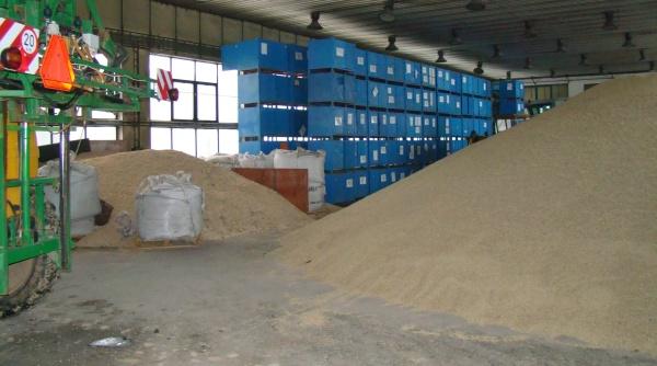 Nevyhovující skladové prostory pro uskladnění obilí